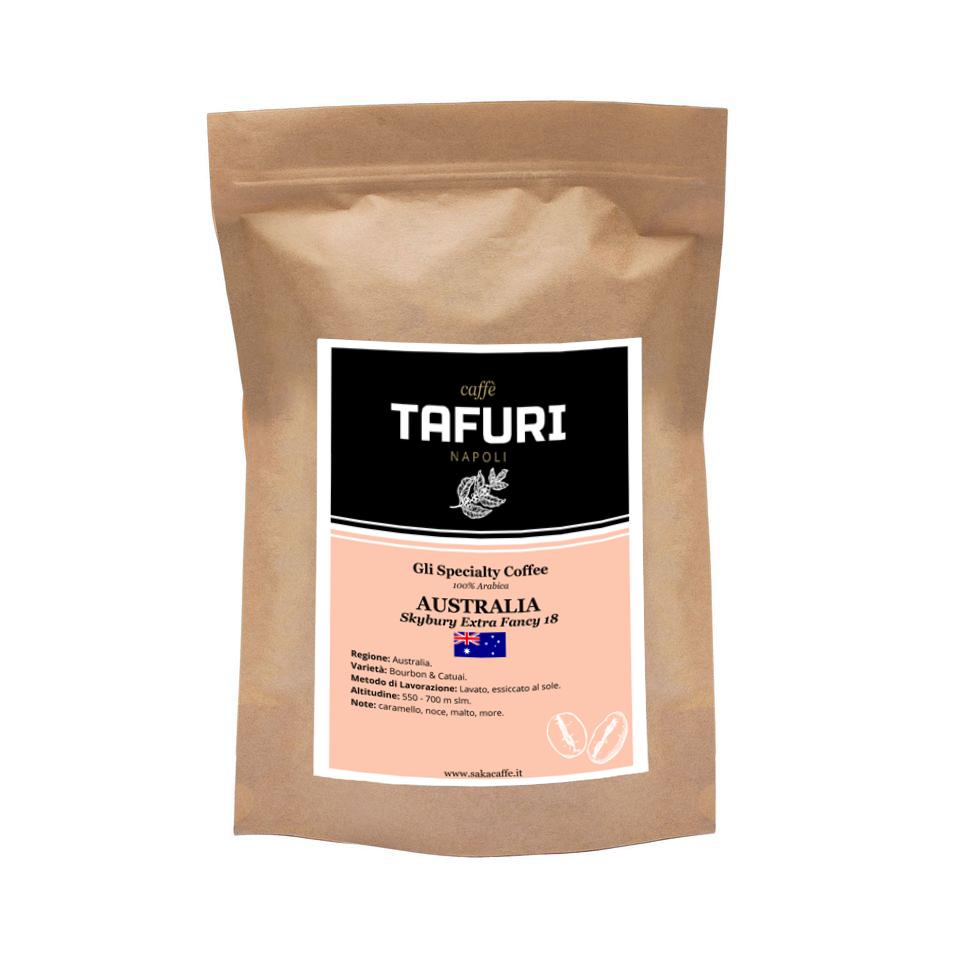 AUSTRALIA - Skybury Extra Fancy 18 - Specialty 100% Arabica Caffè Tafuri | 250gr.