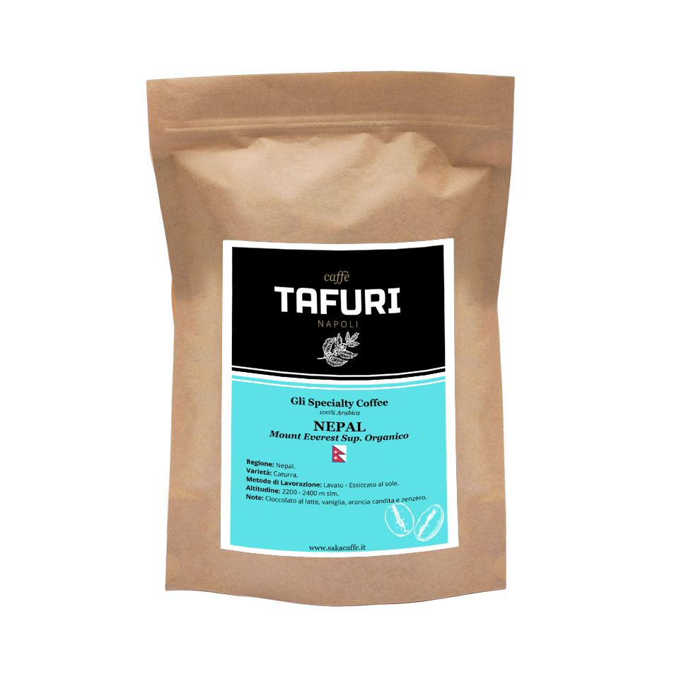 NEPAL - Mount Everest Sup. Organico - Specialty 100% Arabica Caffè Tafuri | 250gr.