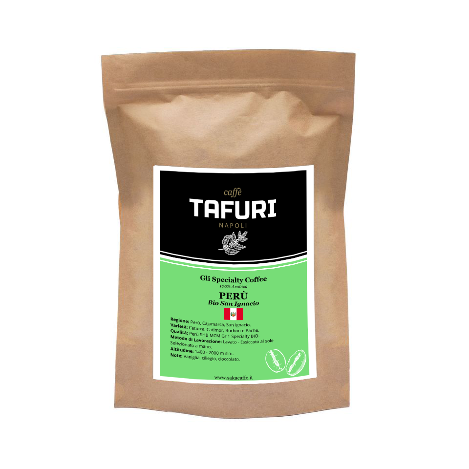 PERÙ - Bio San Ignacio - Specialty 100% Arabica Caffè Tafuri | 250gr.