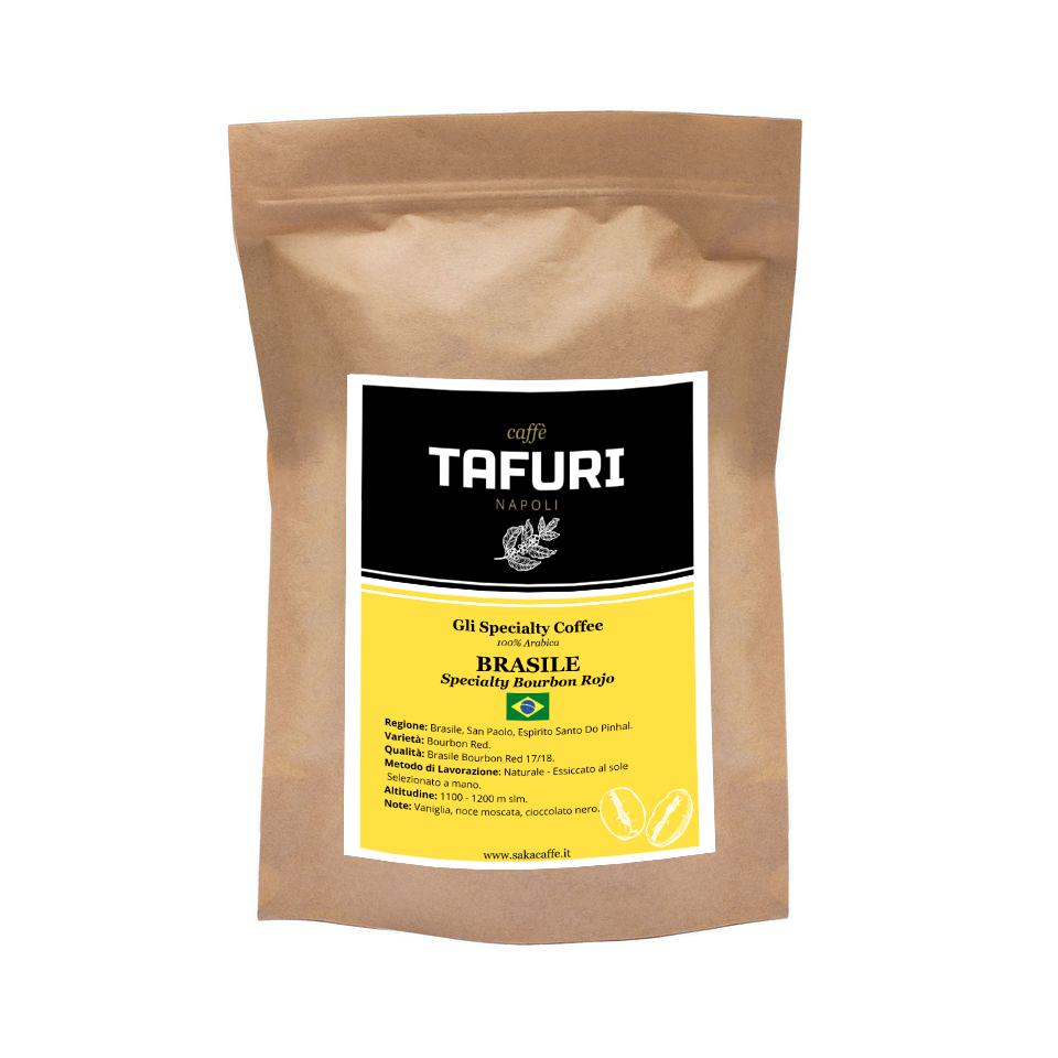 BRASILE - Specialty Bourbon Rojo - Specialty 100% Arabica Caffè Tafuri | 250gr.